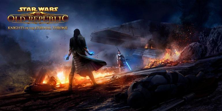 Star Wars: The Old Republic presenta otra expansión: Knights of the Eternal Throne