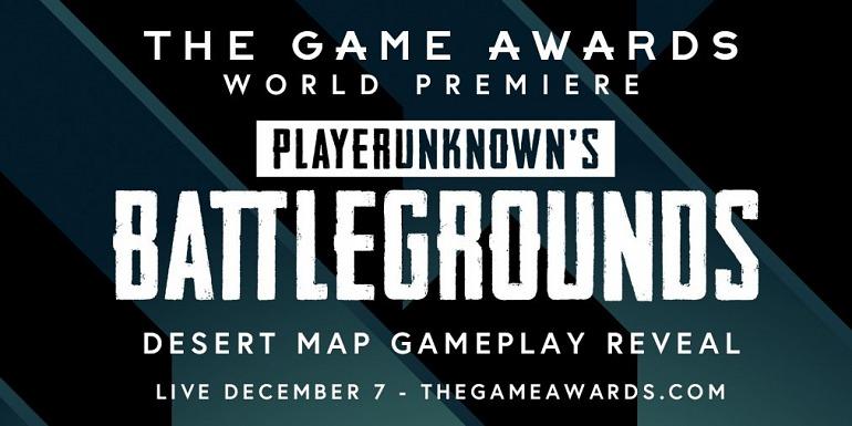 El nuevo mapa de Battlegrounds se mostrará en The Game Awards
