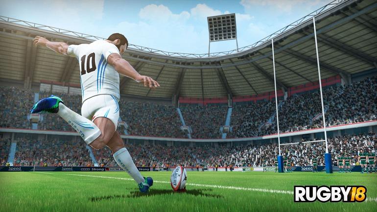Rugby 18 ya tiene fecha de lanzamiento