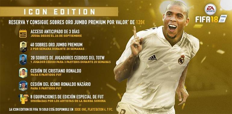 FIFA 18: ¡Las leyendas de FIFA Ultimate Team estarán en PS4 y PC!