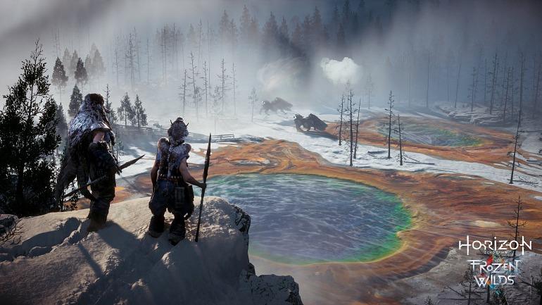 Horizon: EE.UU declina el registro de la marca The Frozen Wilds
