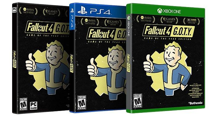 Fallout 4: GOTY Edition llega a las tiendas el 26 de septiembre