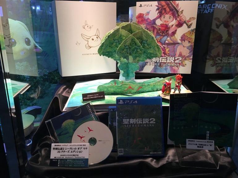 Así es la edición de coleccionista del remake de Secret of Mana
