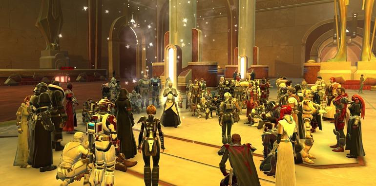 Los fans de Star Wars: The Old Republic rinden tributo a la Princesa Leia