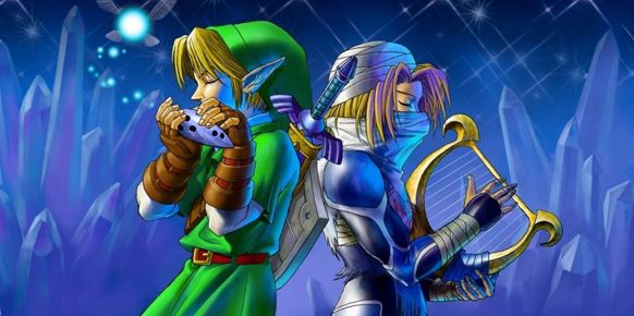 Ilustración - The Legend of Zelda: Ocarina of Time