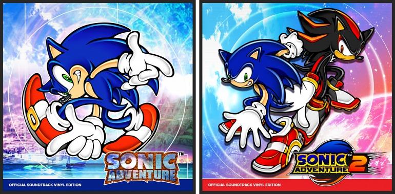 La banda sonora de Sonic Adventure 1 y 2 será editada en vinilo