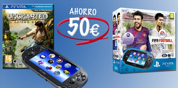 España también recorta por tiempo limitado en 50 euros el precio de PS Vita