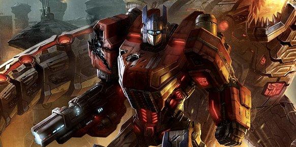 Transformers, una de las marcas propiedad de Hasbro.