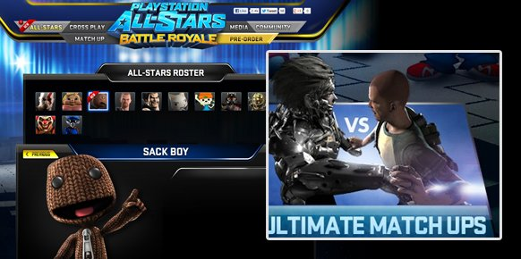 Sackboy y Raiden también aparentemente camino de PlayStation All-Stars: Battle Royale