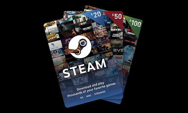 Steam presenta las tarjetas de regalo digitales