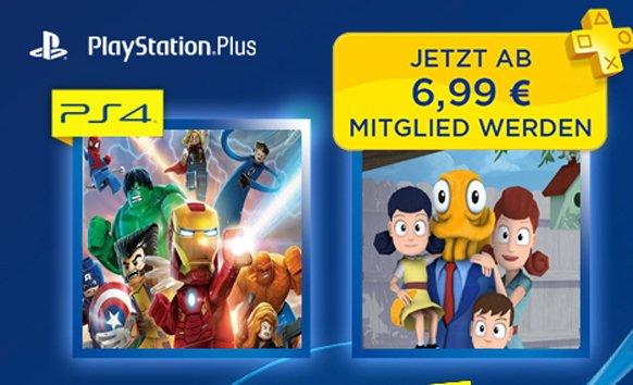 Los rumores de que Octodad y LEGO Marvel Super Heroes serán los juegos PS Plus de marzo apuntan a fraude